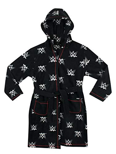 WWE Boys Wrestling Dressing Gown Black 8 to 9 Years from WWE