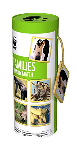 WWF Mother and Babies Animal Memory Game from WWF