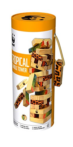 WWF Tropical Tumble Tower Game from WWF