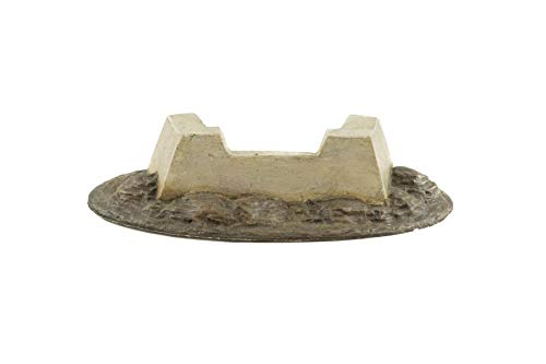 War World Gaming World at War Concrete Bunker Defensive Position - 28mm WW2 Normandy Wargame Terrain Model Diorama from War World Gaming