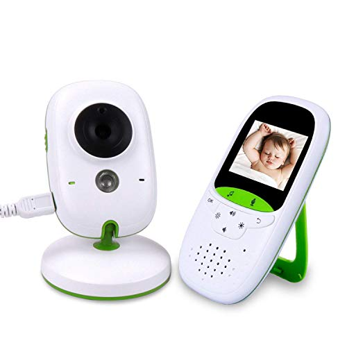 Baby Monitor with Camera 2.0 Inch LCD 2.4GHz Wireless Video Baby Monitor Night Vision Intercom Function Temperature Sensor from WWSUNNY