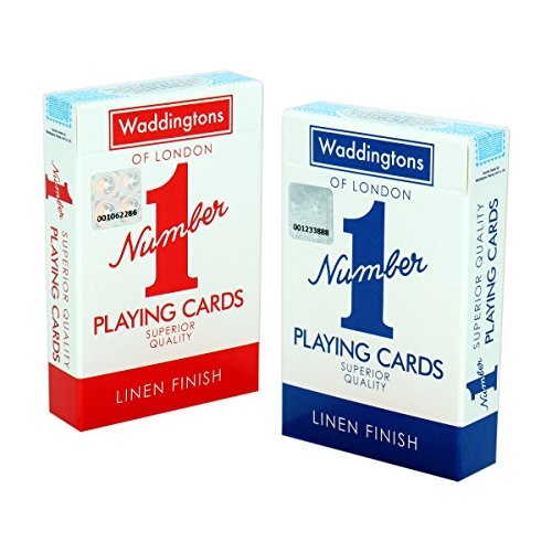 Waddingtons Number 1 Classic Red and Blue Twin Pack Waddingtons Number 1 from Waddingtons Number 1