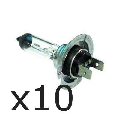 Wadoy  10 x Brand New H7 499 HEADLAMP HEADLIGHT CAR BULBS 12v 55w (2 PIN) from Wadoy