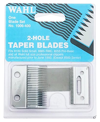 Wahl Super Taper 2 Hole Replacement Taper Blade (Top & Bottom SET) BRAND NEW ORIGINAL 1006-400 from Wahl