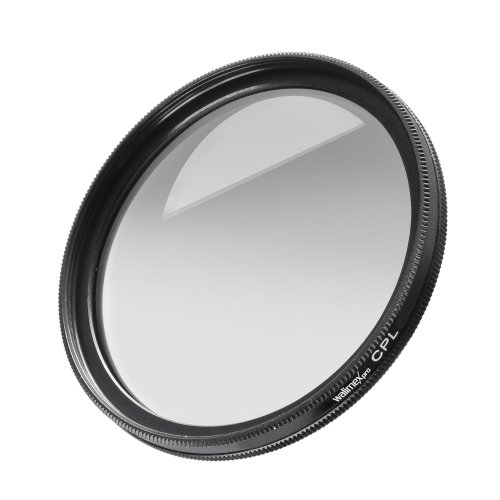 Walimex Pro MC circular polarizing filter 77 mm (glass hardened and tempered multiple times) from Walimex Pro