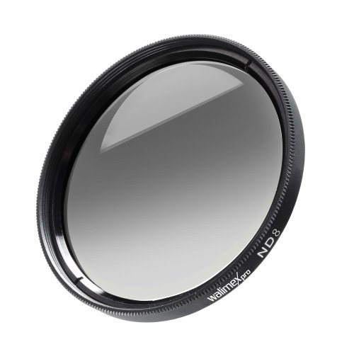 walimex pro 55mm ND8 Coated Filter for Camera from Walimex Pro