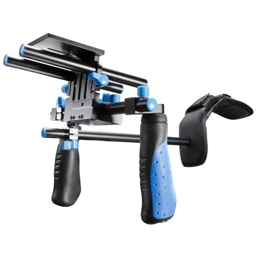 walimex pro Hand Shoulder Video Tripod Video Rig Director I with Counter Weight from Walimex Pro