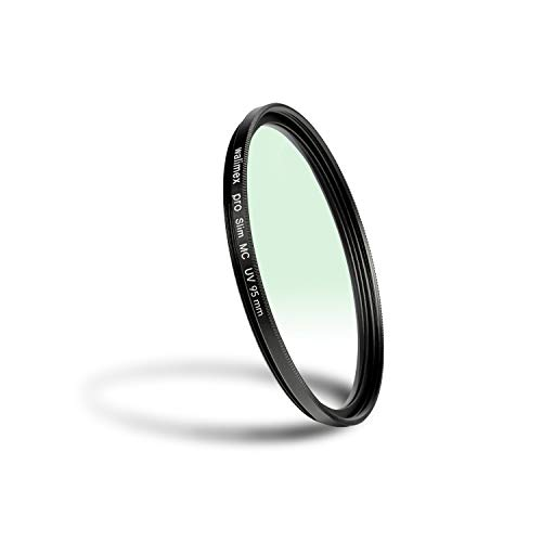 Walimex Pro UV Filter Slim MC 95 mm Black from Walimex Pro