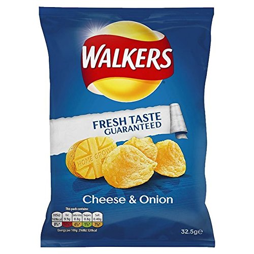 Walkers Crisps (32.5gx32) (Cheese & Onion) from Walker's