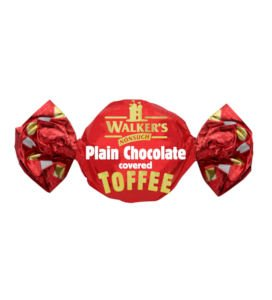 Walkers Plain Chocolate covered Toffees - 500g from Walkers