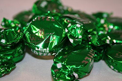 walkers nonsuch mint toffee wrapped mint toffees from Walkers