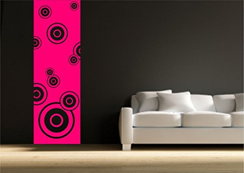 Circle wall banner Vinyl border Wall Sticker Decal Transfer Mural Stencil Print from Wall Smart Designs
