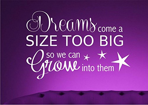 DREAM BIG BOYS GIRLS BEDROOM WALL ART QUOTE PHRASE STICKER VINYL DECAL MURAL WSD461 from Wall Smart Designs