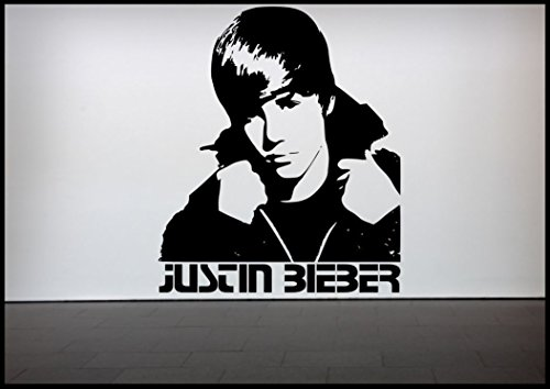 Justin Bieber Wall Sticker Bedroom Vinyl Art Decal Mural from Wall Smart Designs