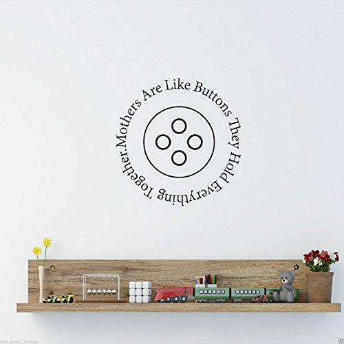 Mothers Are Like Wall Art Sticker Lounge Room Quote Decal Mural Stencil Transfer WSD525 from Wall Smart Designs