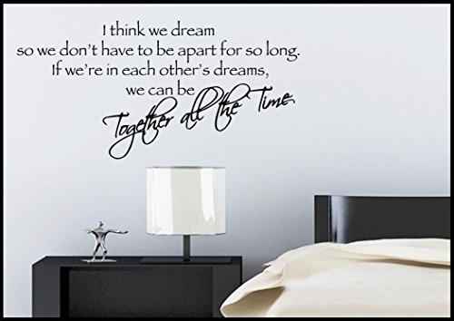 Sweet Dreams Bedroom Wall Sticker Quote Decal Transfer Mural Stencil Art Tattoo WSD607 from Wall Smart Designs