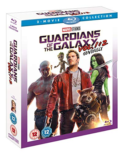 Guardians of the Galaxy & Guardians of the Galaxy Vol. 2 Doublepack [Blu-ray] [2017] from Walt Disney Studios Home Entertainment
