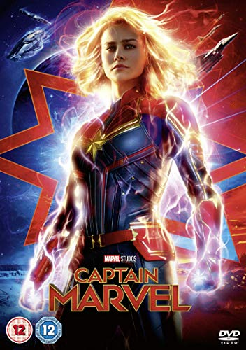 Marvel Studios Captain Marvel [DVD] [2019] from Walt Disney