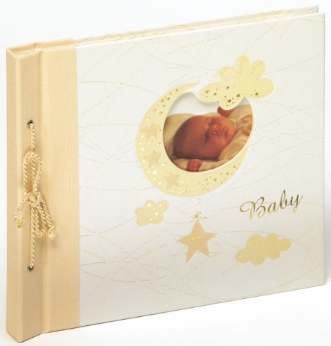 Walther Bambini UK-114 Baby Album 28 x 25 cm, 60 White Pages from Walther