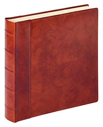 Walther Design Fa/801/Classic Album Valencia Leather Photo Album, Brown, 32 x 7 x 32 cm from Walther