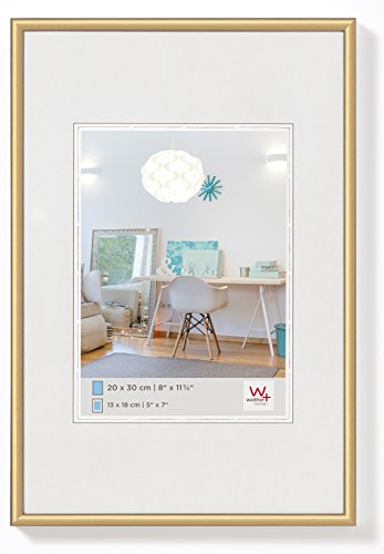Walther design KV430G New Lifestyle, plastic frame, 24x30 cm, gold, 1 piece from Walther
