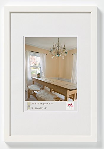 Walther Peppers BP430V Wooden Picture Frame, polar white, 24 x 30 cm from Walther