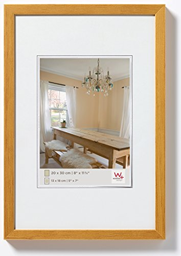 Walther Peppers BP030E Wooden Picture Frame, 8 x 11.75 inch (20 x 30 cm), oak from Walther