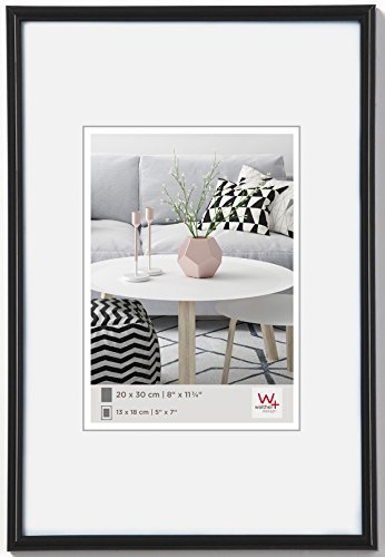 Walther design KB100H Galeria picture frame, 27.50 x 39.5 inch (70 x 100 cm), black from Walther
