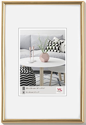 Walther design KG030H Galeria picture frame, 8 x 11.75 inch (20 x 30 cm), gold from Walther