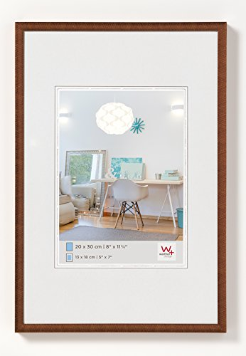 walther design KV050J New Lifestyle picture frame, 15.75 x 19.75 inch (40 x 50 cm), bronze from Walther