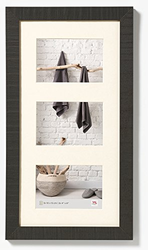 walther design HO315B Home wooden picture frame, 3X 4 x 6 inch (3X 10 x 15 cm),black from Walther