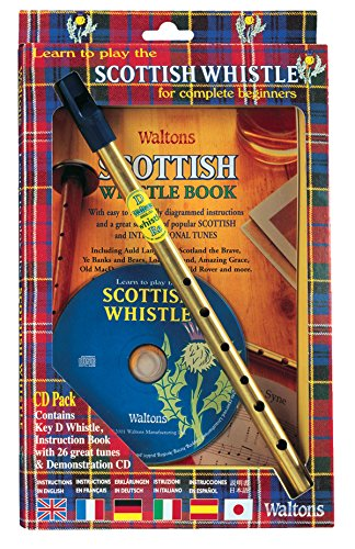Waltons WM1530 Scottish Whistle/CD Pkg For Complete Beginners from Waltons