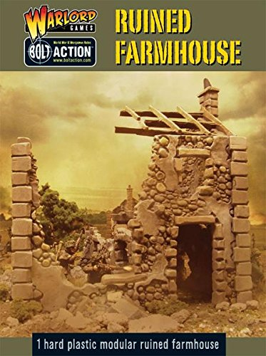 Ruined Farm House - Bolt Action from Warlord Games