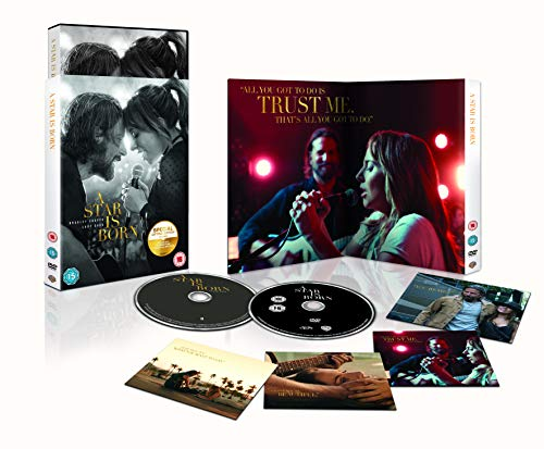 A Star Is Born [Special Edition Includes CD] [DVD] [2018] from Warner Bros