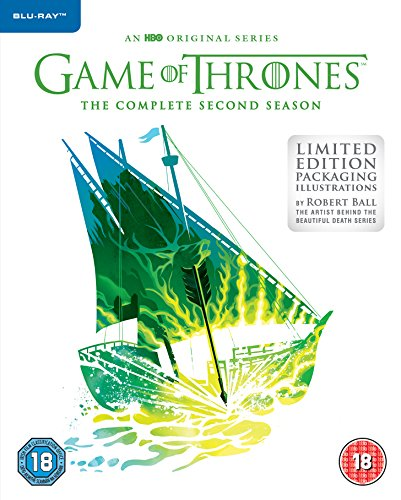 Game of Thrones: Season 2 [Limited Edition Sleeve] [Blu-ray] [2012] [2013] from Warner Bros
