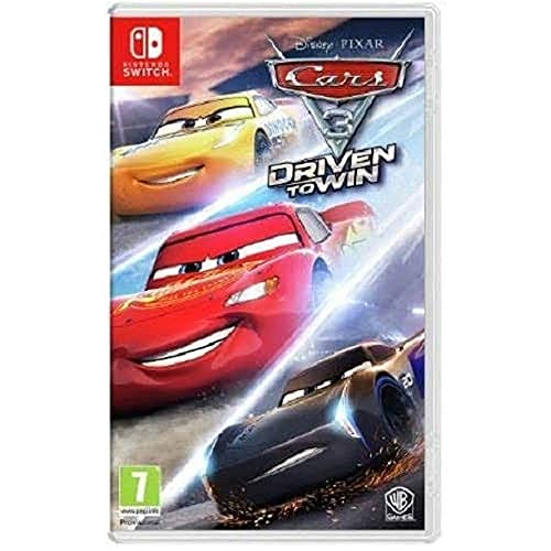Cars 3 Driven to Win (Nintendo Switch) from Warner Home Video Games