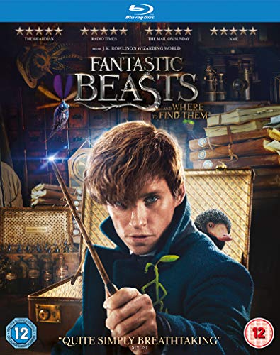 Fantastic Beasts and Where To Find Them [Blu-ray] [2016] from Warner Home Video