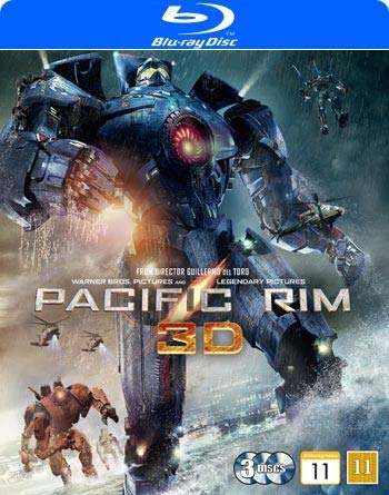 Pacific Rim (Real 3D + 2-disc Blu-ray) from Warner Home Video