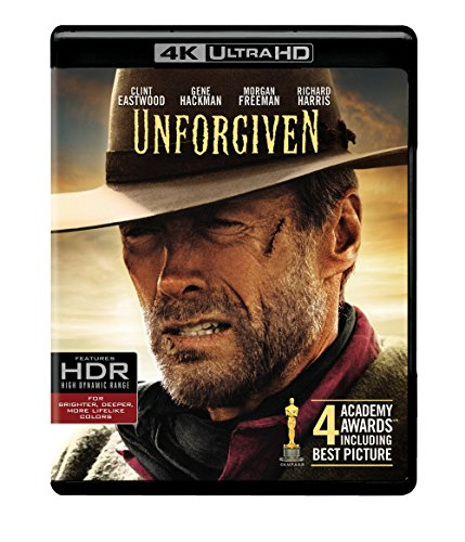 Unforgiven (1992) (4K Ultra HD) [Blu-ray] from Warner Manufacturing