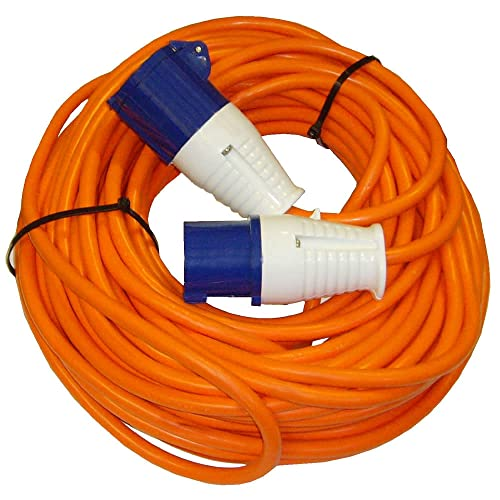 Waveline 16amp Mains Hook Up Lead 25m Long from Waveline