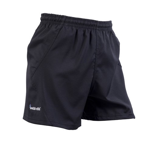 Webb Ellis Men's Accelerate Pro Short - Black, Large from Webb Ellis