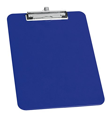Wedo 576603 A4 Clipboard in with Pen Holder - Blue from Wedo