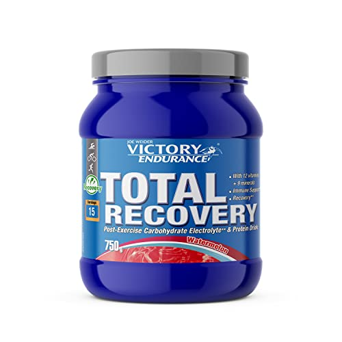 Victory Endurance Total Recovery. Maximizes Recovery After Training. Enriched with Electrolytes and Vitamins. Watermelon Flavor (750 g) from Weider