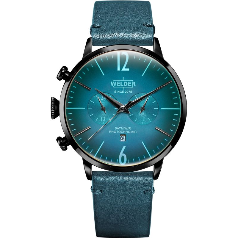 Unisex Welder The Moody 45mm Dual Time Watch from Welder