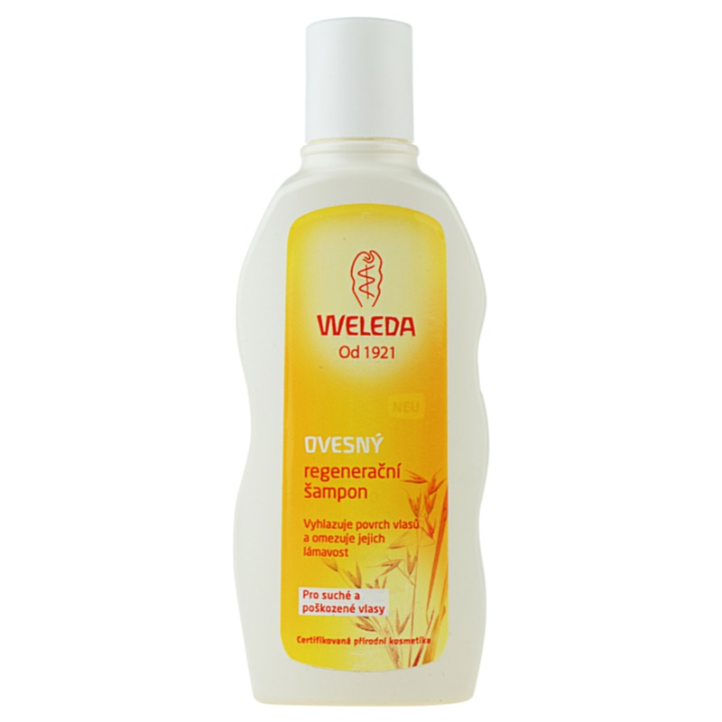 Weleda Oat Regenerating Shampoo for Dry and Damaged Hair 190 ml from Weleda