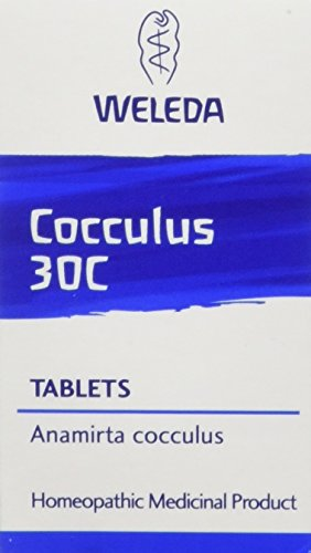 Weleda Cocculus 30 C Homeopathic Tablets, Pack of 125 Tablets from Weleda