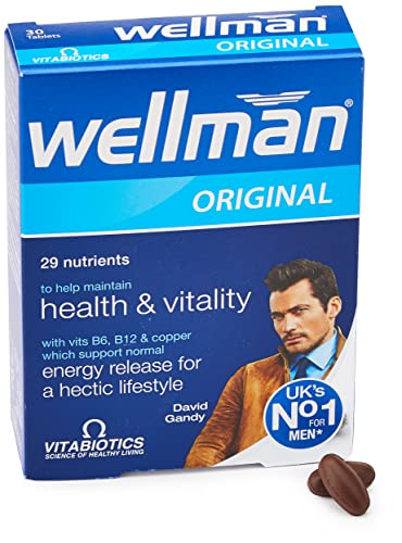 Wellman Vitabiotics Original - 30 Tablets from Wellman