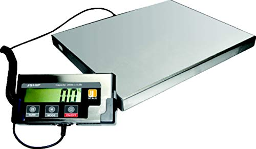 EXCELLENT LARGE DIGITAL POSTAL SHIPPING WEIGHING SCALES HEAVY DUTY JSHIP 150KG from Wellpack Europe