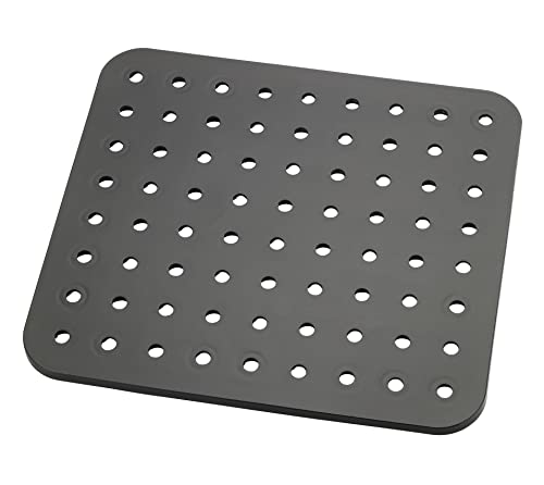 Wenko Sink mat Kristall Black-extra strong, square, 27.5 x 31 x 0.1 cm from Wenko