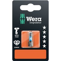 Wera 05073904001 840/1 Impaktor Diamond Bits for Hex-Plus Socket S... from Wera